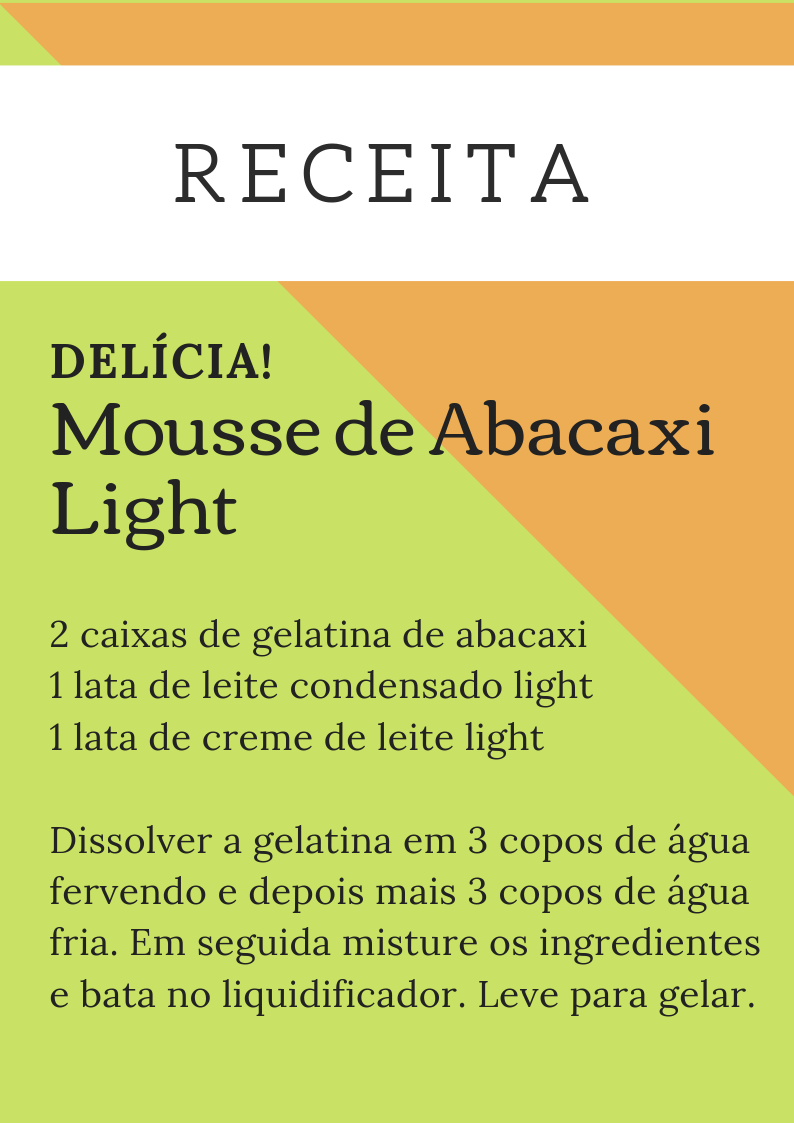 ReceitaMoussedeAbacaxiLight