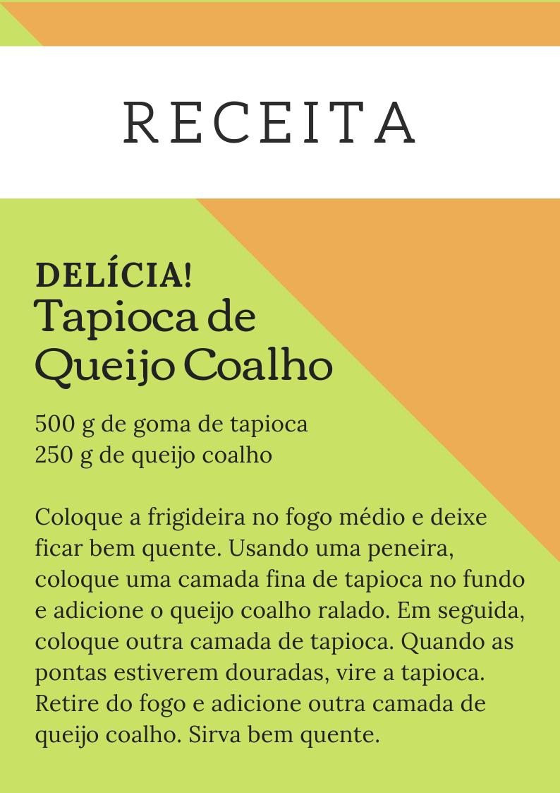 ReceitadeTapioca