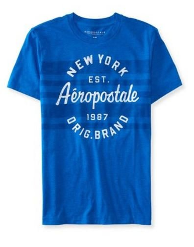 Camisa Aeropostale Men's Circle Stripe Logo