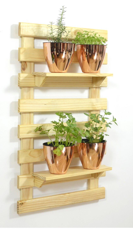 Horta Vertical Auto Irrigável Plantiê