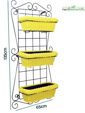 horta-na-vertical-de-ferro-3-vasos-produto-premium