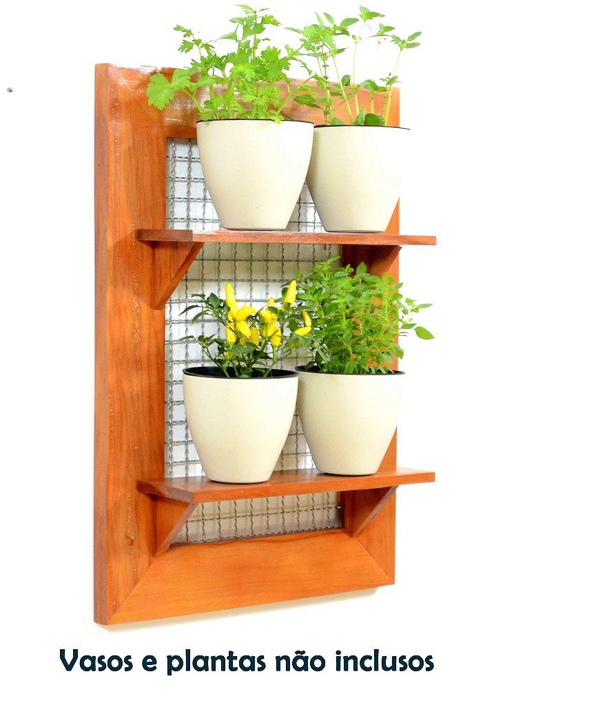 Pallet Para Seu Jardim Vertical Horta Na Vertical -> Floreira Vertical