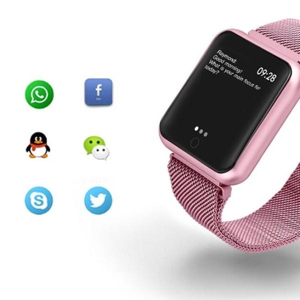 7b43e8ed581 Relógio Eletrônico Smartwatch CF IP68 - Android e iOS - Dali Relógios