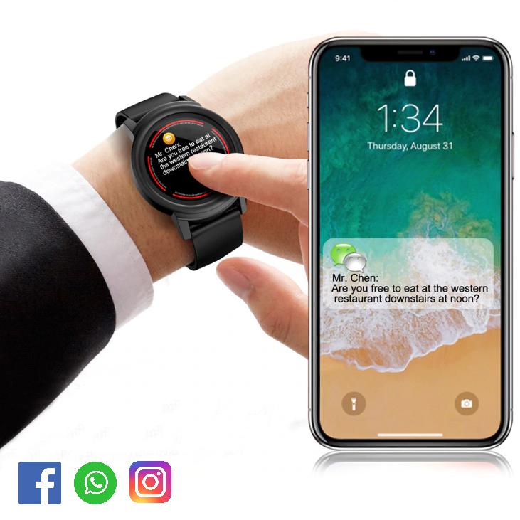 d68030eb8db Relógio Smartwatch CF Elite - Android e iOS - Dali Relógios