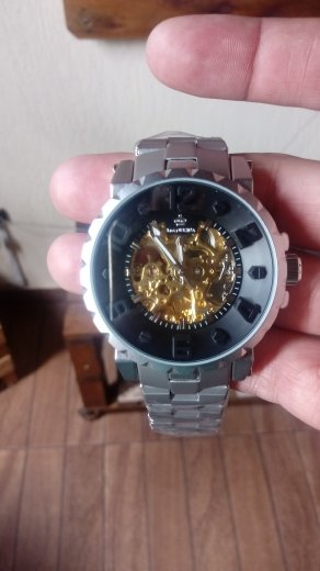 54b5646cbfd Relógio Orkina Chronos Automático - Dali Relógios
