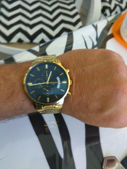 24d77886532 Relógio Blindado NIBOSI Inox Funcional - Dali Relógios
