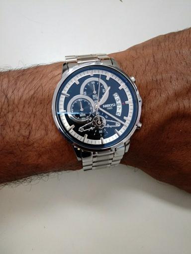 dd0e9f99dd6 Relógio Blindado NIBOSI Style Funcional - Dali Relógios