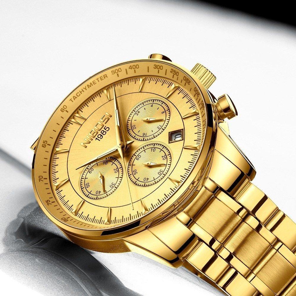 ceef11d76ba Relógio Nibosi Inox Gentleman - Dali Relógios
