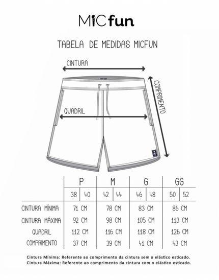 Tabela de Medidas Mic Fun