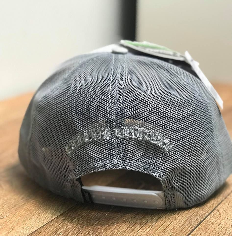 53ddcca65c360 Boné Trucker Aba Curva Grey - Chronic - Imperium Store - Shopping ...