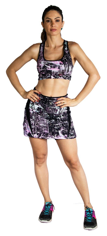 Shorts-saia fitness espaço
