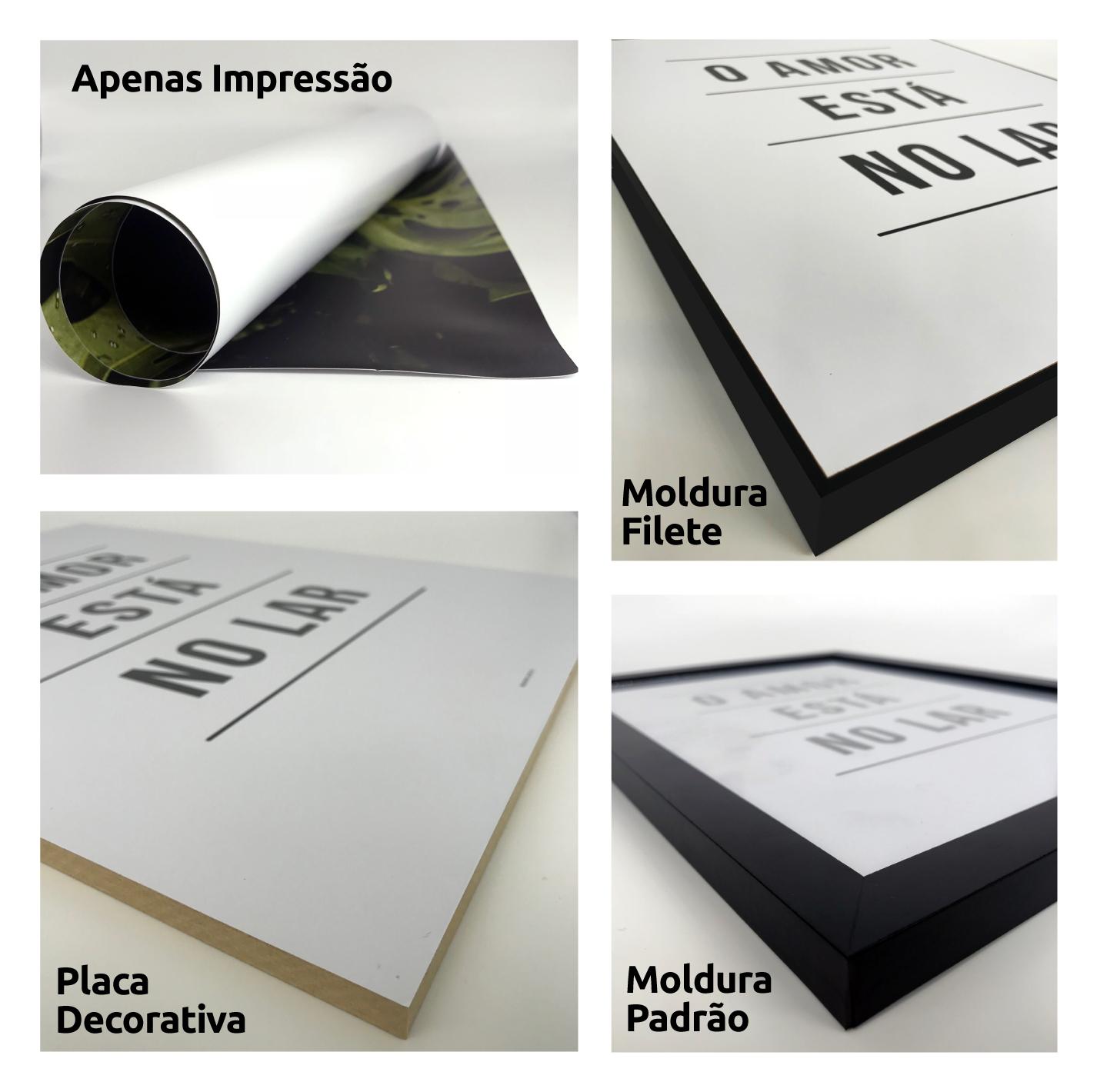 ea7f98e046 DePoster - Quadros Para Sala - Poster Deixe a Rua Lá Fora - DePoster ...