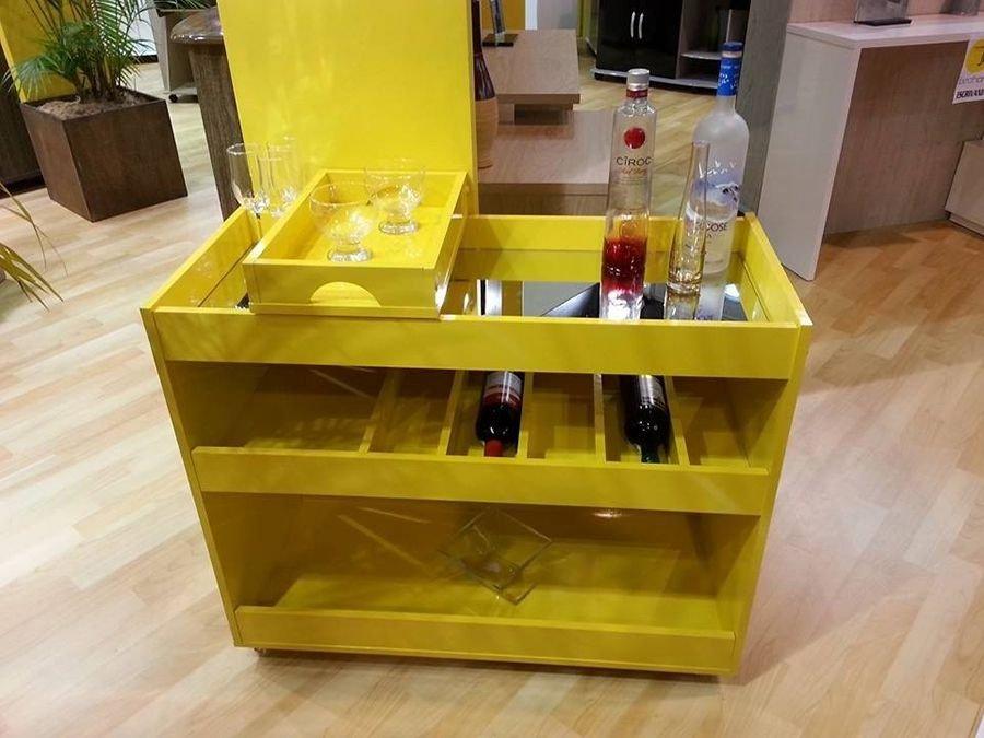 Adesivo Mesa De Jantar ~ Aparador Bar para Sala JB 4030 Bechara Lojas Suprilar