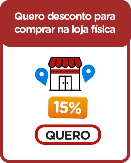Ganhe 15% de desconto para comprar qualquer produto nas lojas físicas Suprilar