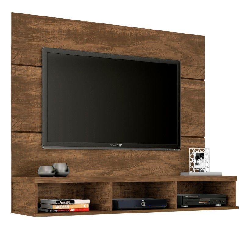 painel para tv com prateleira
