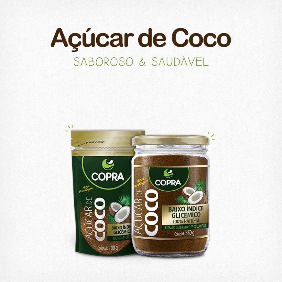 Açúcar de Coco mais saudável