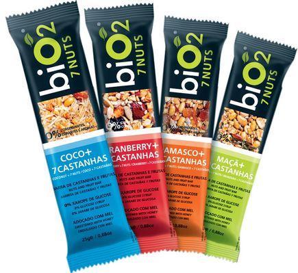 Conheça a linha de barras de cereais Bio2