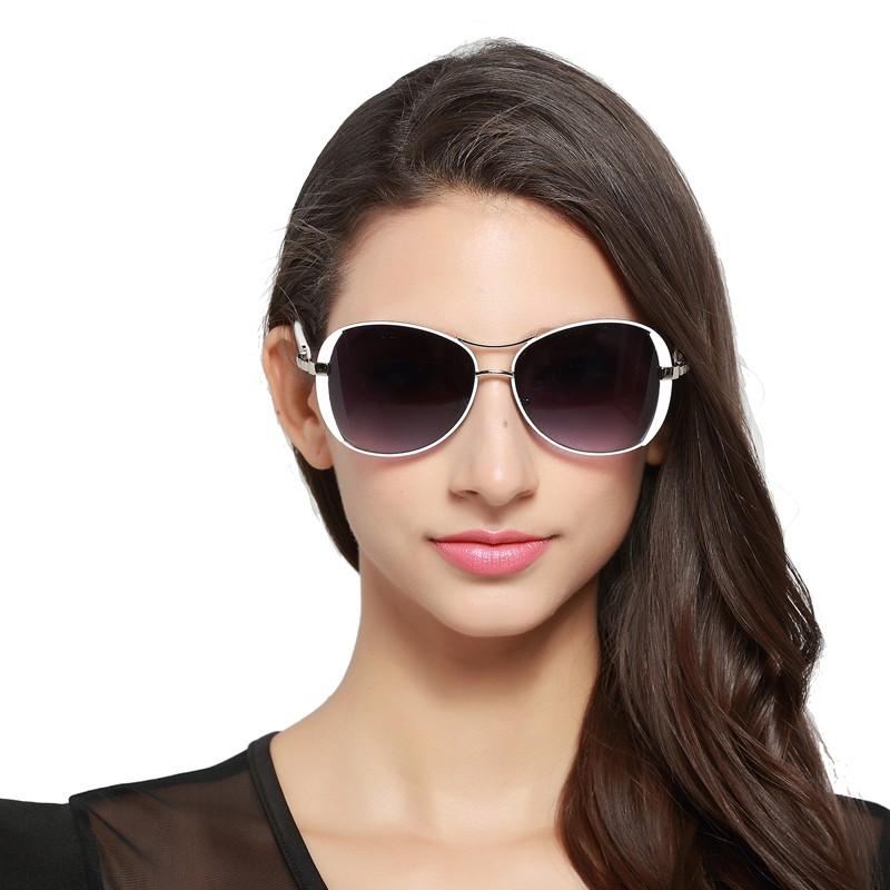 a5a792a5d9b5a Óculos de Sol Luxo Feminino Oval HDCRAFTER - Importados VR ...