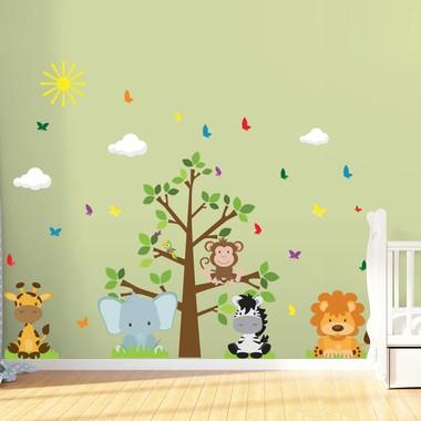 adesivo-de-parede-infantil-para-quarto-arvore-safari