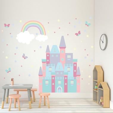 adesivo-de-parede-infantil-para-quarto-castelo-encantado