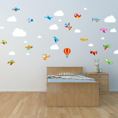 adesivo-de-parede-para-quarto-de-bebe-avioes-e-nuvens