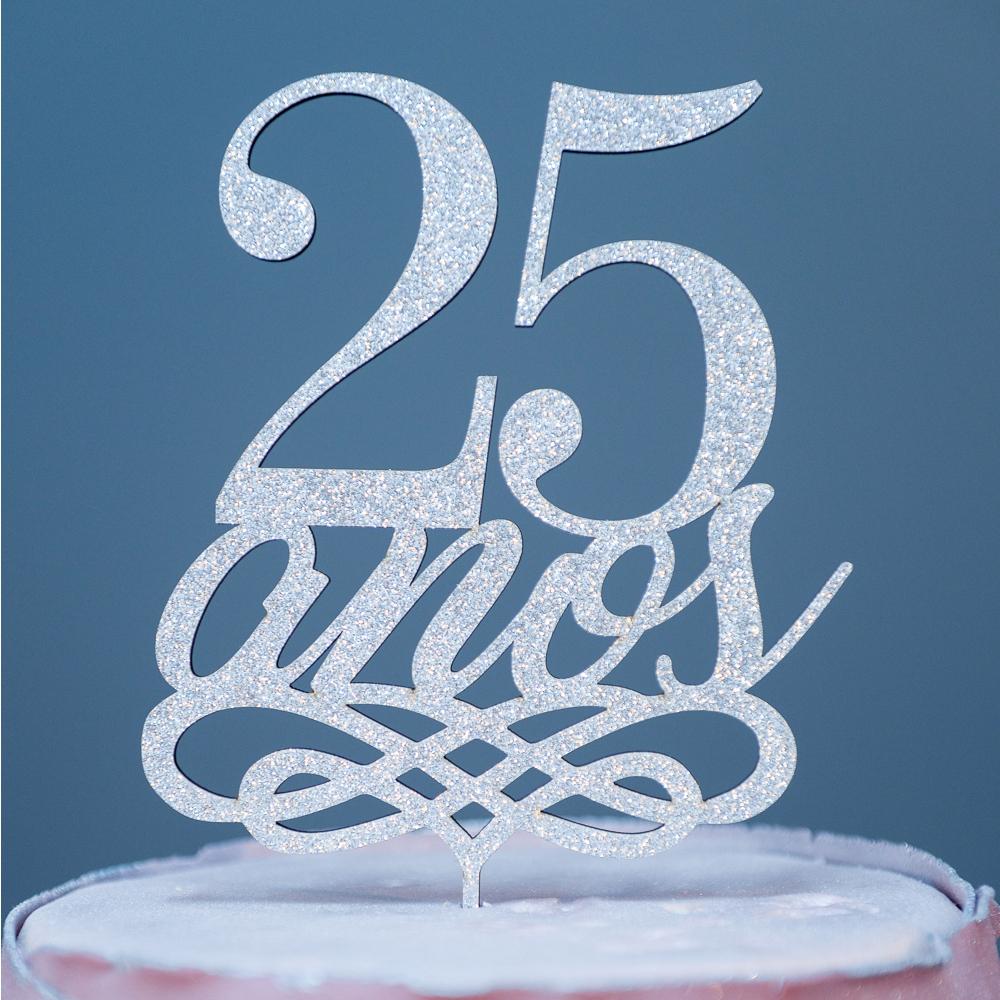Topo-bolo-25-anos-aniversario-bodas-de-prata