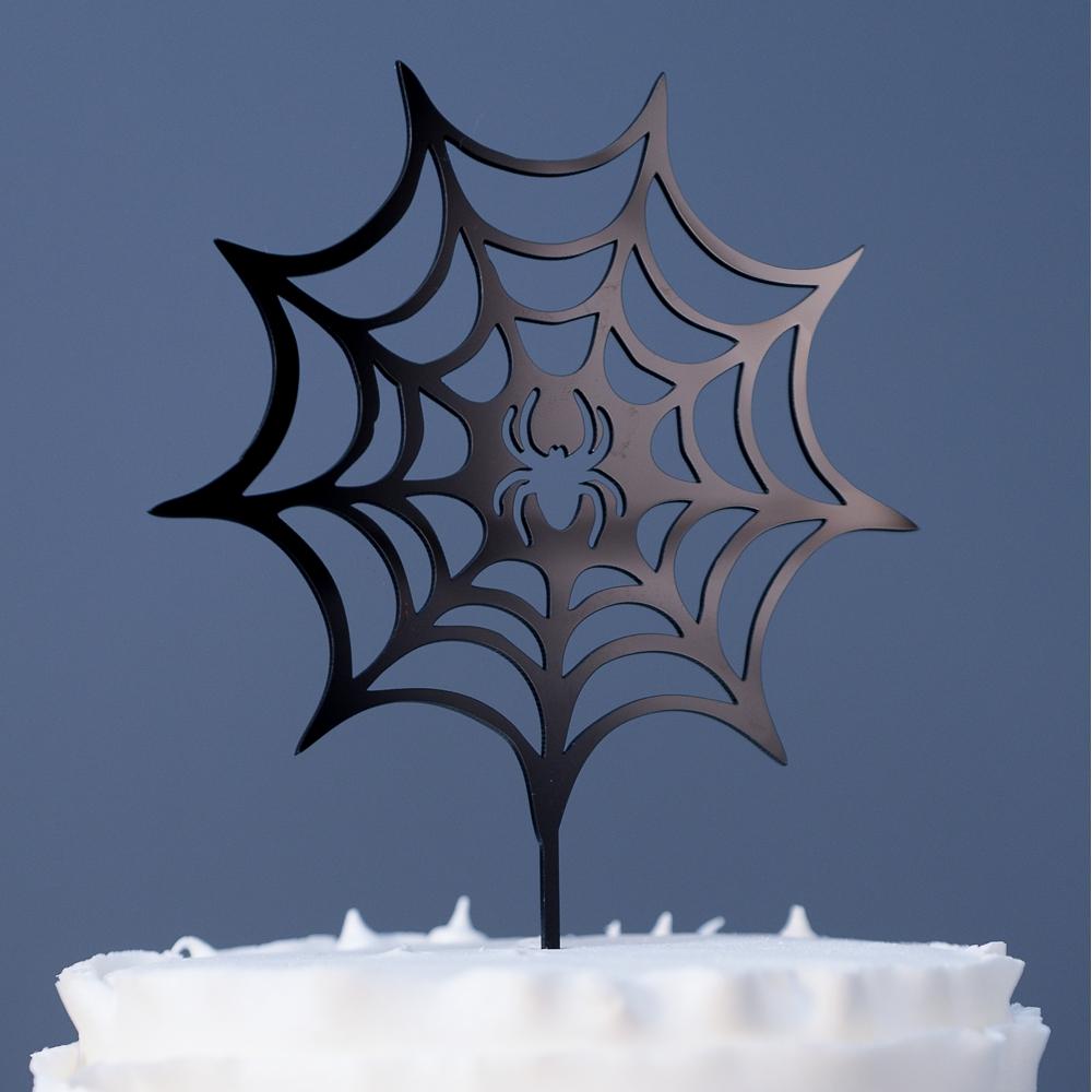 topo-de-bolo-teia-de-aranha-homem-halloween