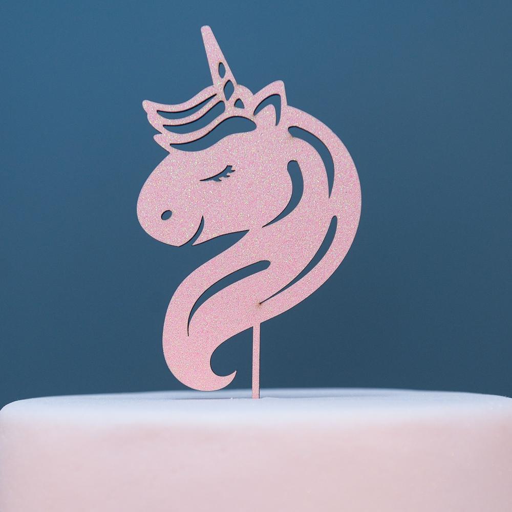 topo-de-bolo-aniversario-unicornio-rosa
