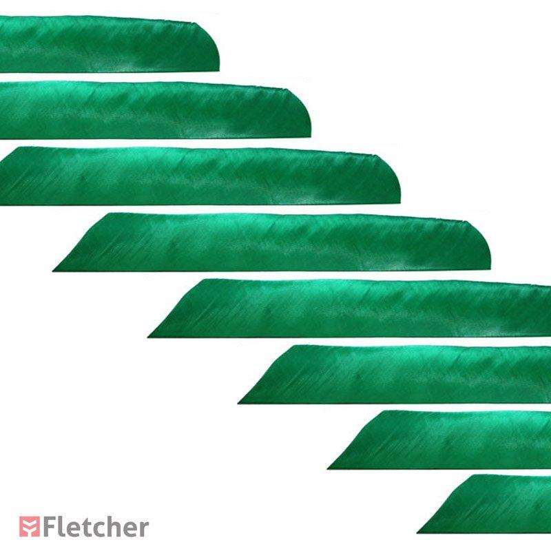 Pena de Peru Inteira Verde Bearpaw Full Lenght Feathers