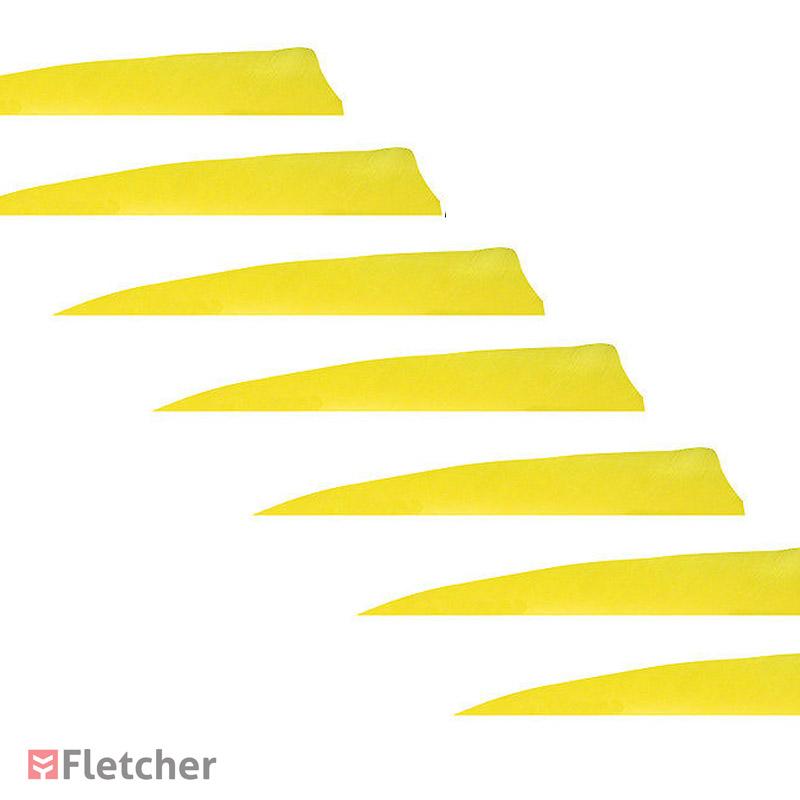 Penas de Peru Shield 5 polegadas Top Archery Preta LW (Asa Esquerda)