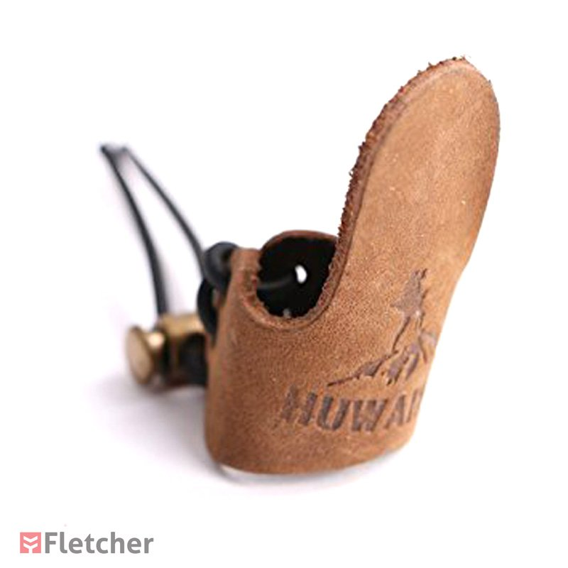 Huwairen Anel Regulavel de Protecao para Polegar Marrom Thumb-ring