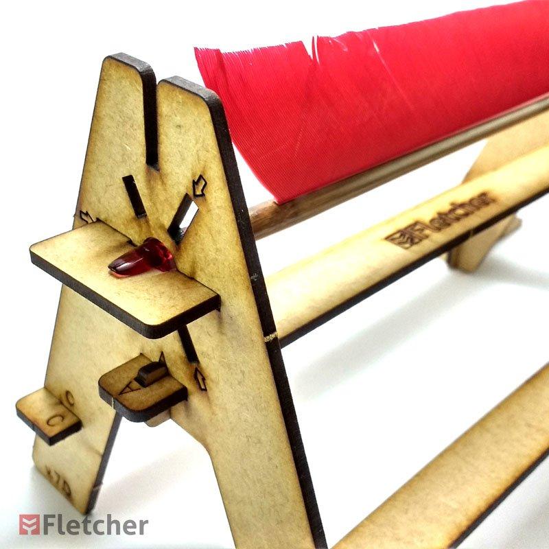 7_Fletcher_Gabarito-Para-Fabricacao-De-Flechas_Fletching-Jig