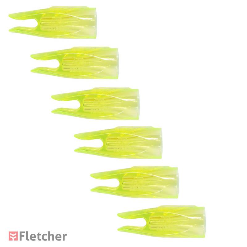 """Nock Rabeira Para Flechas Bearpaw Verde Transparente 11/32"""""""