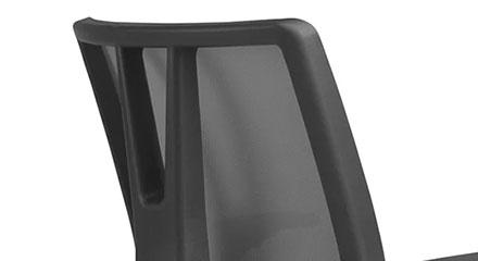 Detalhe do Design da Cadeira Frisokar Diretor Addit