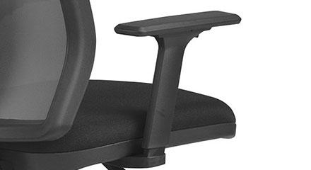 Detalhe dos Braços da Cadeira Frisokar Diretor Addit