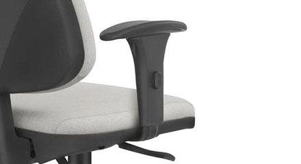 Detalhe dos Braços da Cadeira Frisokar Job Presidente