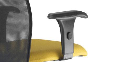 Detalhe do Braço da Cadeira Executiva Liss