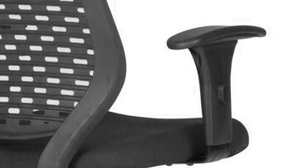 Detalhe do Braço da Cadeira Executiva Liss PP