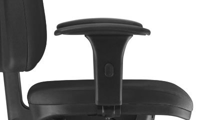 Detalhe dos Braços da Cadeira Frisokar Sky Presidente