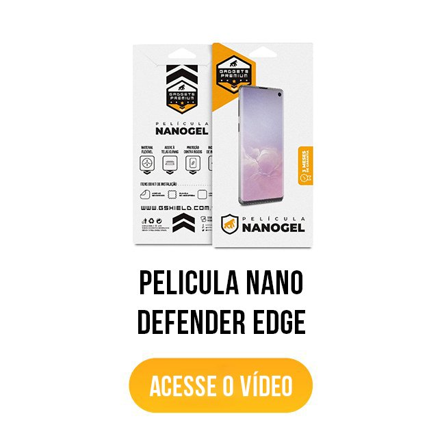 banner acesse o vídeo película nano defender edge