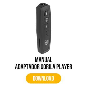manual para adaptador gorila player
