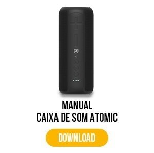 manual para caixa de som atomic