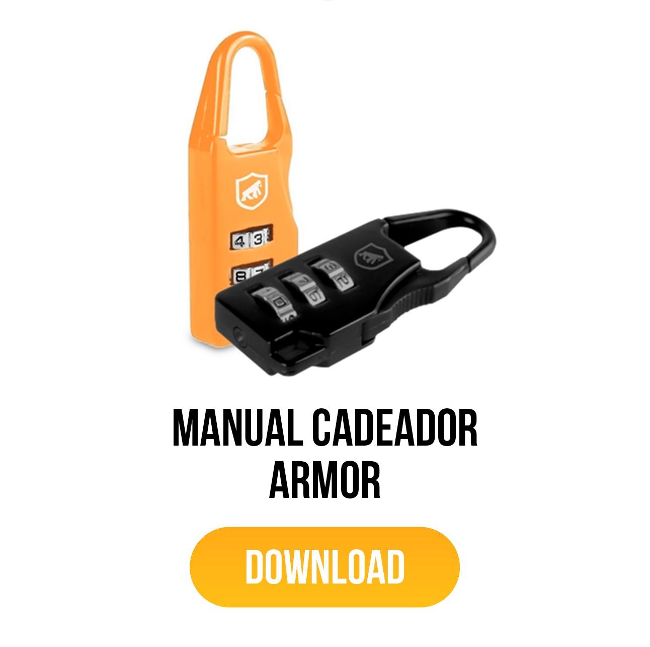 manual para cadeado armor