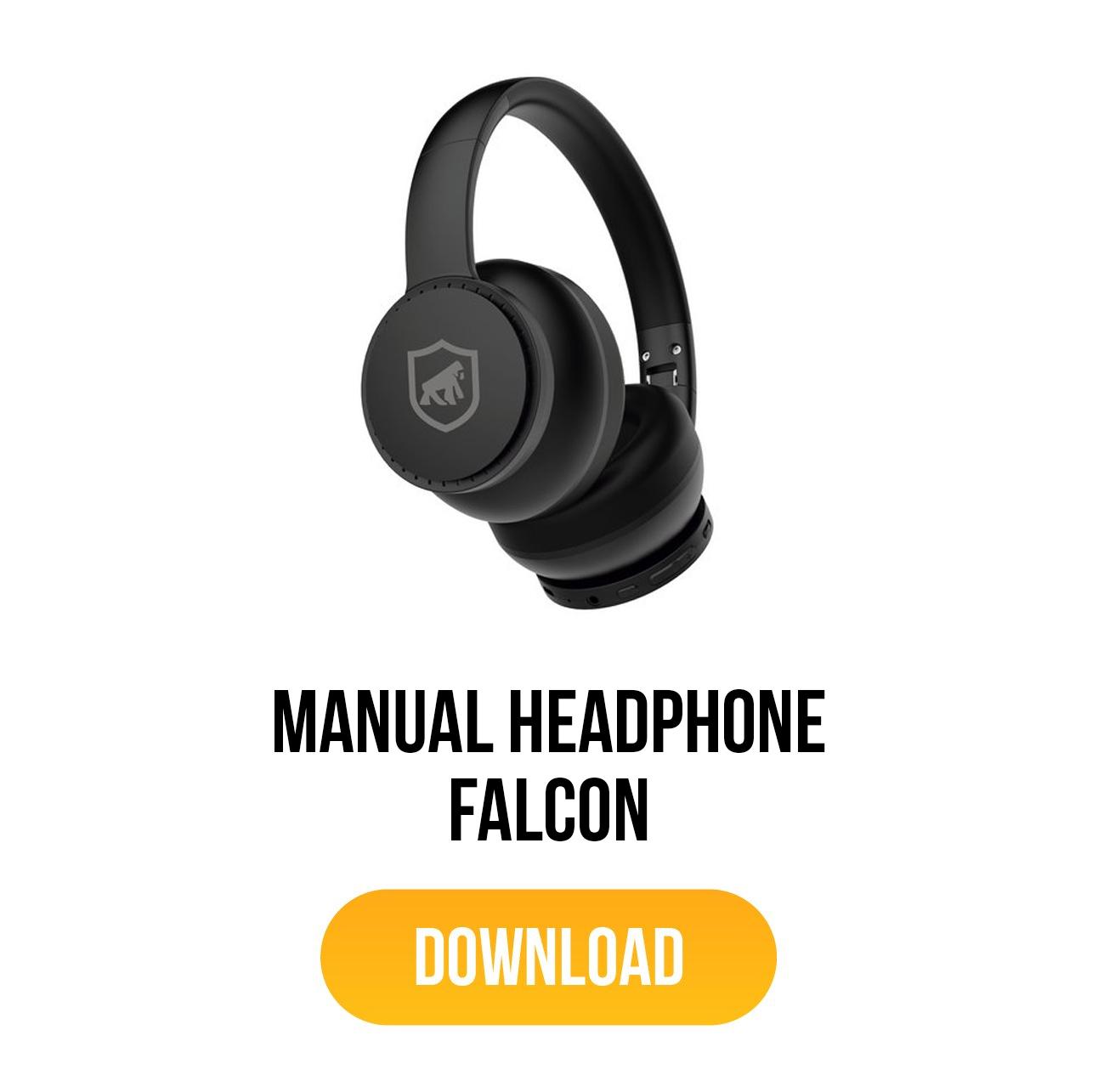 manual para headphone falcon