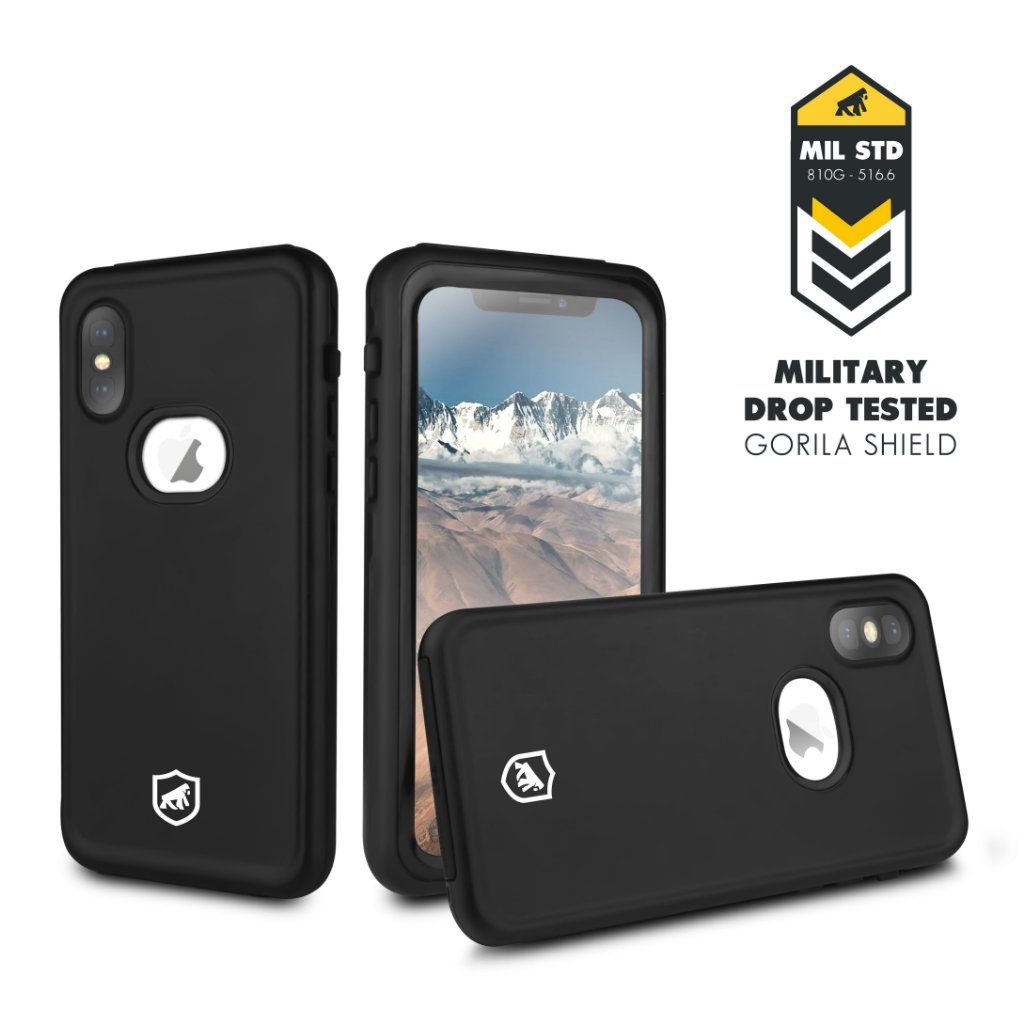 Capa prova dgua iphone x em at 12x carto gorila shield capas capa a prova dgua para iphone x gorila shield thecheapjerseys Images