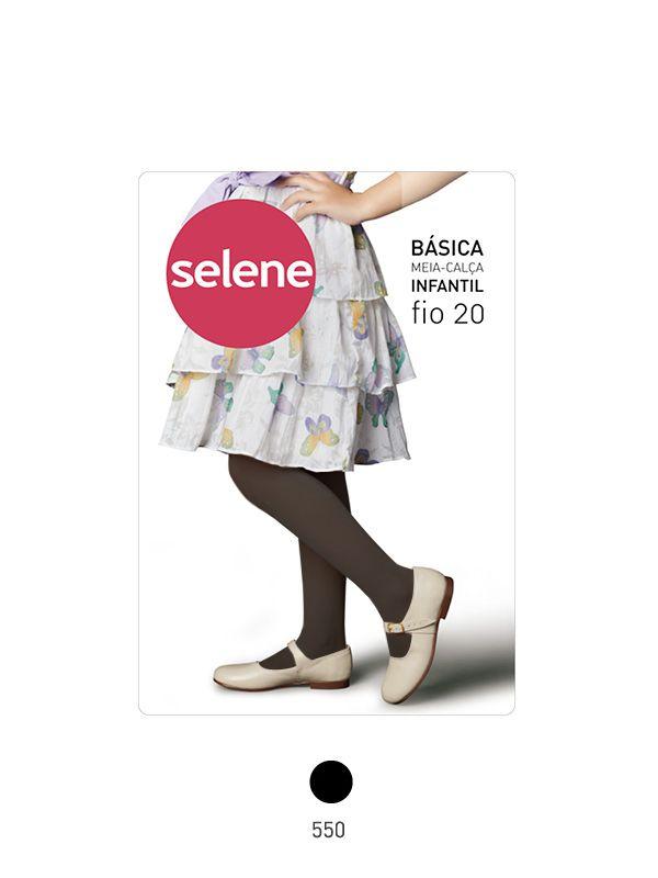MEIA CALCA INFANTIL BASICA - Selene 9c8846c34c8