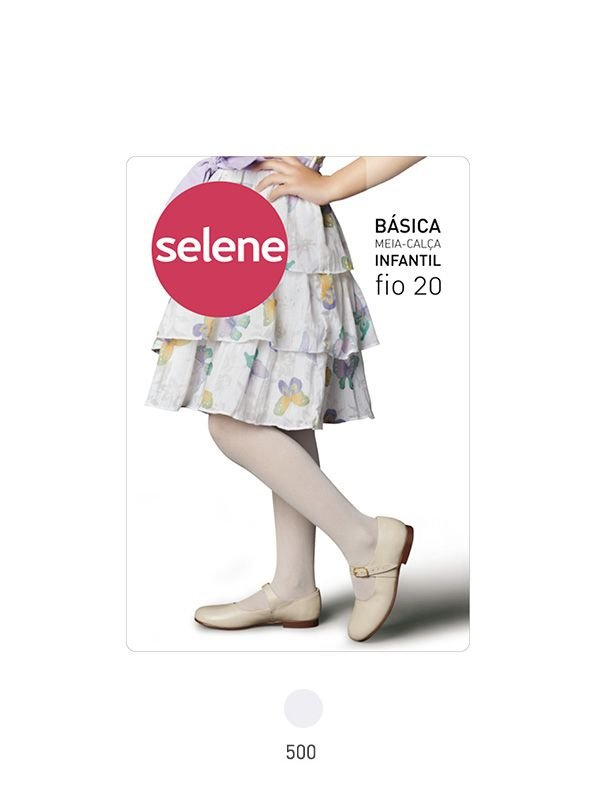 7449637c4 MEIA CALCA INFANTIL BASICA - Selene