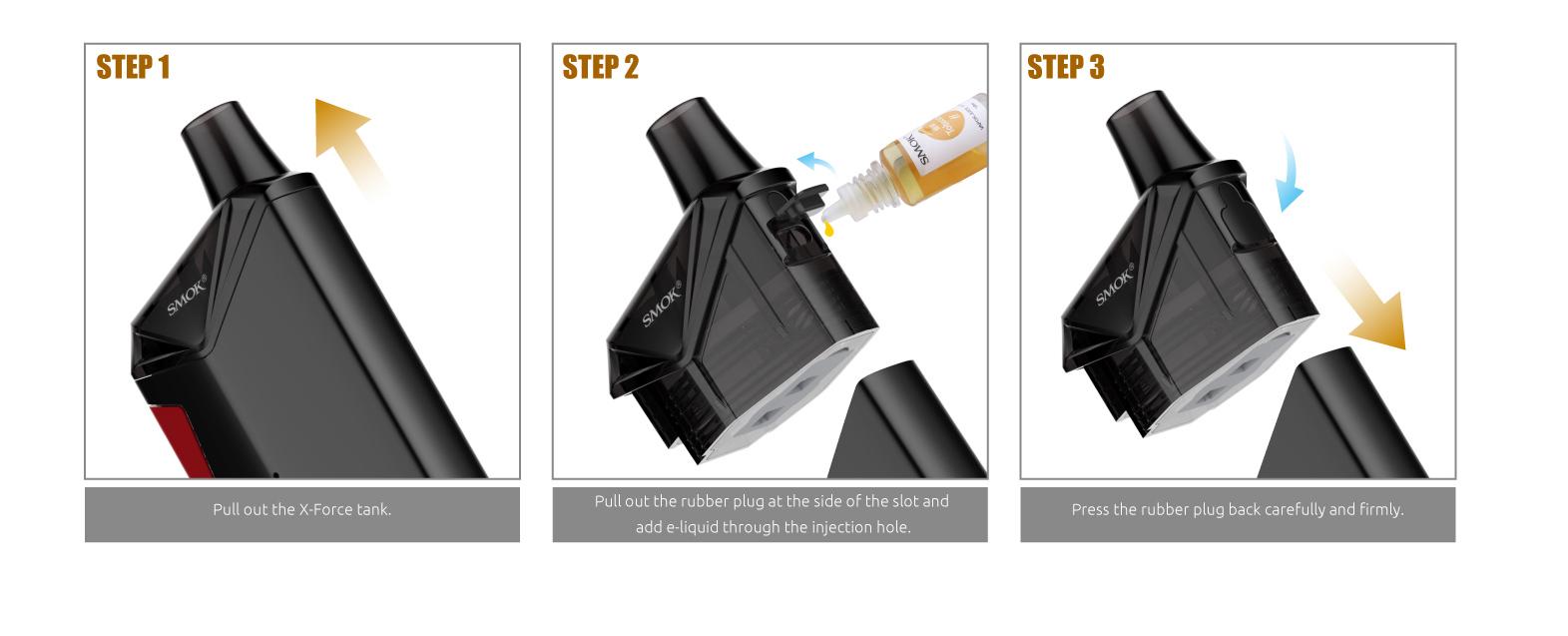Pod System X Force - Smok