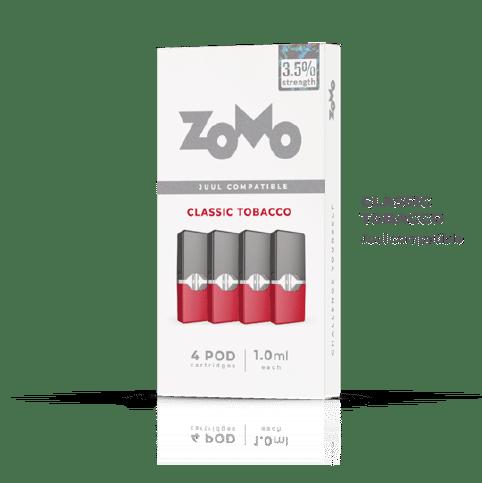 Cartucho Refil Z pod Zomo Classic Tobaco