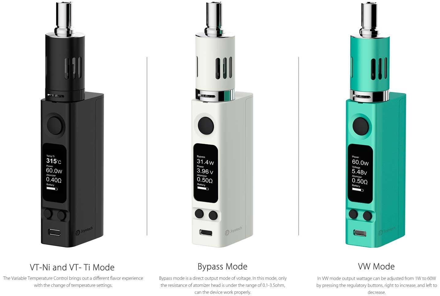 Cigarro Eletrônico eVic VTC Mini 60W